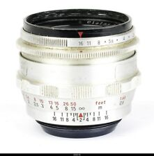 Zeiss Q Biotar 2/58mm No3837162 Red T   for Contax S  Pentax M42
