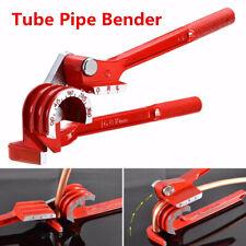 1X Manual Red Aluminum Alloy 180 Degree Pipe Bending Tool Tube Pipe Bender Tools