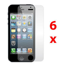 6x Aniti-Glare Matte LCD Screen Protector Guard Film For Apple iPhone 5 5th Gen