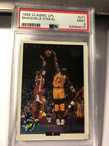 1992 Classic LPS Shaquille O'Neal #lp1 Limited Print Rookie RC PSA 9 Mint