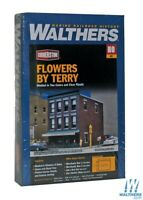 Walthers 933-3473 Flowers by Terry Kit HO Scale Train
