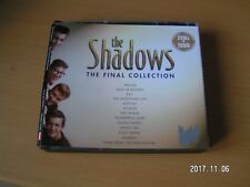 THE SHADOWS - THE FINAL COLLECTION - 2 CD's & DVD (3 Disc Set)