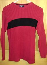 The Childrens Place Boys Red V Neck Sweater Excellent Condition