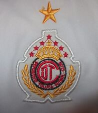 Deportivo Toluca F.C. Mens Soccer Jersey, Banamex, White Polyester, Size XL, EUC