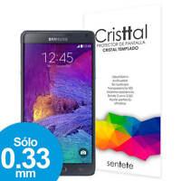 Sentete® Samsung Galaxy Note 4 Protector de Pantalla de Cristal Templado PREMIUM