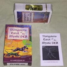 OOP ~ Navigators Tarot Of The Mystic Sea Card Deck Switzerland **NEW & SEALED**