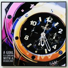 Hublot Watch canvas quotes decals painting framed POP ART poster
