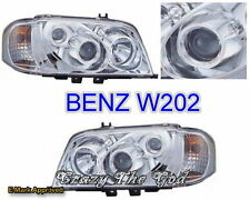 W202 94-00 INT PROJECTOR HEADLIGHT CHROME for MERCEDES