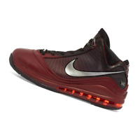 NIKE MENS Shoes LeBron VII - Team Red, Silver & Black - CU5133-600