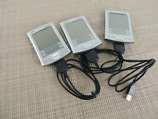 Lot of 3 Palm Tungsten E2 Handheld Pda Mp3 w/ New Charging Cord No Stylus *As Is
