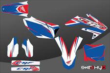 KIT ADESIVI GRAFICHE RACE ONE AMERICAN HONDA CRF 250 2006 2007
