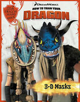 3D Masks Book (How to Train Your Dragon) 2 DRAGON MASKS TO MAKE - NEW BOOK