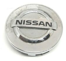 Nissan Textured Chrome Cap -Wheel Rim Hub Center Dust Cap Hubcap #40343AU51A