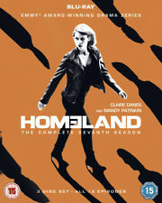 Homeland: The Complete Seventh Season DVD (2018) Claire Danes cert 15 3 discs