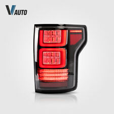 VLAND Light Smoked Pair LED Tail Lights For Ford F150 F-150 2015-2019 Assembly
