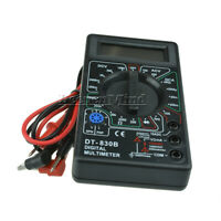 Digital Mini DT830B LCD Multimeter Voltmet Electric Voltage Tester&Test Lead Pen