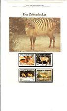 WWF, WNF Kapitel - Zebraducker, ELFENBEINKÜSTE  1985