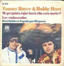 7inch TOMMY BOYCE & BOBBY HART me pregunto que hara ella esta noche SPAIN +PS EX