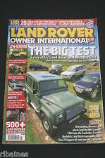 Land Rover Owner International July 2007, V8 90/Range Rover Classic/TD4 Auto