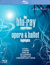 The Blu Ray Experience: Opera and Ballet Highlights [Blu-ray], New Dvds