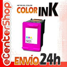 Cartucho Tinta Color HP 901XL Reman HP Officejet 4500 Wireless 24H