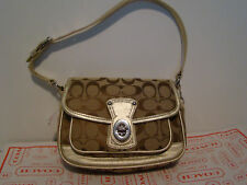 NWT AUTHENTIC COACH SIGNATURE COLLECTION PENNY FLAP BAG