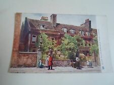 Old Postcard QUAINT HOUSES IN FRANKLIN STREET, CHELSEA Raphael Tuck Oilette