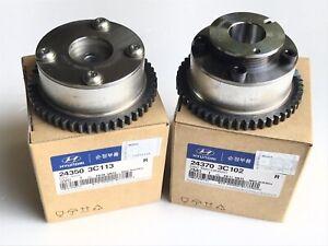 KIA/Hyundai OEM CVVT Gear SET 24350-3C100, 24370-3C102