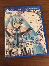 Collector VLJM 35017 Ps Vita Hatsune Miku Project Diva F Japanese game. Rare