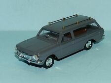 MODIFIED EH HOLDEN STATION WAGON REPAINTED IN GREY as a HEARSE with coffin