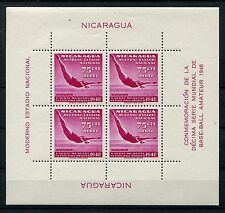 Nicaragua Block 23 postfrisch / Schwimmen .................................1/135