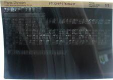 Honda ST1300 2007 Parts List Manual Microfiche h372