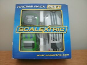 SCALEXTRIC DRIFT RACING PACK, NISSAN 350Z CARS (x 2), No.C2955,VGC,BOXED.