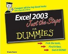 Excel 2003 Just the Steps For Dummies (For Dummies (ComputerTech))