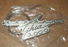 VOLKSWAGEN KARMANN GHIA 2000 KEYCHAIN METAL vw coupe convertible key ring