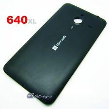 Scocca Cover Posteriore copri Batteria NERO NOKIA MICROSOFT 640xl