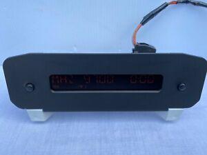 2000-2008 Peugeot 206 RD3 Clock Radio Display Screen 9647409777 B00