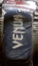 Venum kontact shinguards w/ instep blue mma muay thai kickboxing martial arts sp