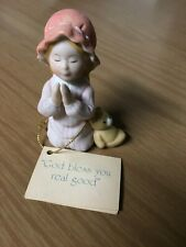 "1983 Holly Hobbie ""God Bless You..."" Figurine~Miniatures Classics Series 2"
