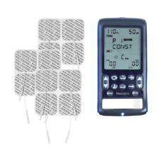 Flexistim + Value Pack 12 Electrodes - Electrotherapy Unit - TENS, EMS, MIC, IFT