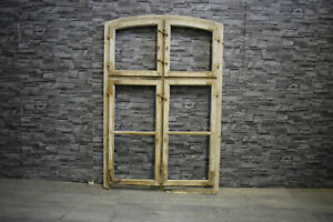 Traumhaftes Antikes altes Holzfenster Fenster  122 x 81  Alt  Deko