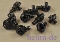 LEGO Technik / Bionicle - 10 x Rotationsgelenk schwarz / Gelenk / 47455 NEUWARE