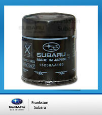 1 x NEW GENUINE SUBARU XV IMPREZA + FORESTER + OUTBACK OIL FILTER 15208AA160