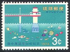 Ryukyus 1970 Marine Observatory/Science/Fish/Nature/Conservation 1v  (n25922)