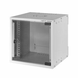 """10"""" SOHO Netzwerkschrank Wandschrank 6HE HxBxT 312 x 320 x 303mm / RAL7035"""