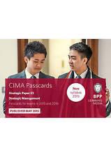 CIMA E3 Strategic Management: Strategic paper E3: Passcards, Good Condition Book