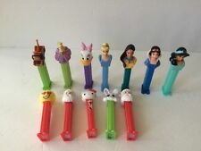 DISNEY PEZ DISPENSERS Cars Mater Princesses Tinkerbell Pocahantas + Hello Kitty