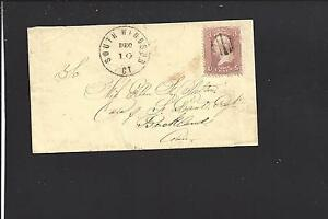 SOUTH WINDSOR,CONNECTICUT LADIES COVER, HARTFORD CO. 1847/1970.