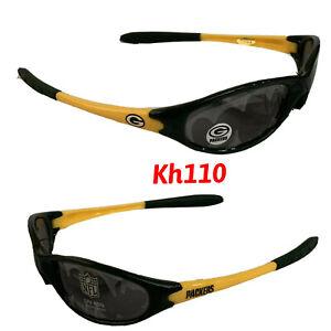 NFL Green Bay Packers Sleek Wrap Sunglasses -UV 400 Protection- Kids