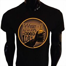 Whiskey Is Immer a Good Idee T-Shirt Herren S-5XL Trinken Alkohol Whisky WI1